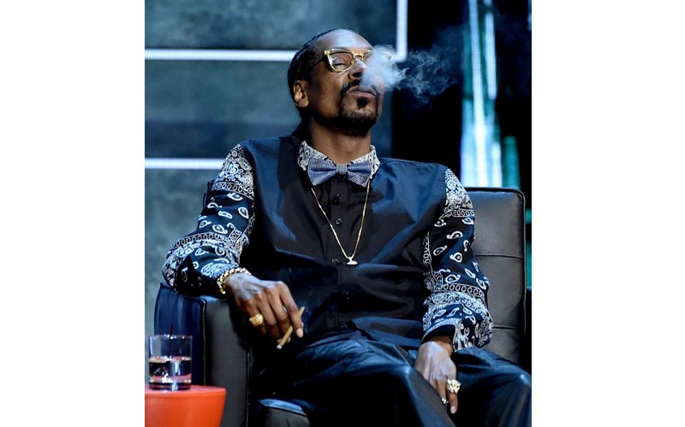 Snoop Dogg has long espoused a cannabis-friendly lifestyle. (Photo by Kevin Winter/Getty Images)