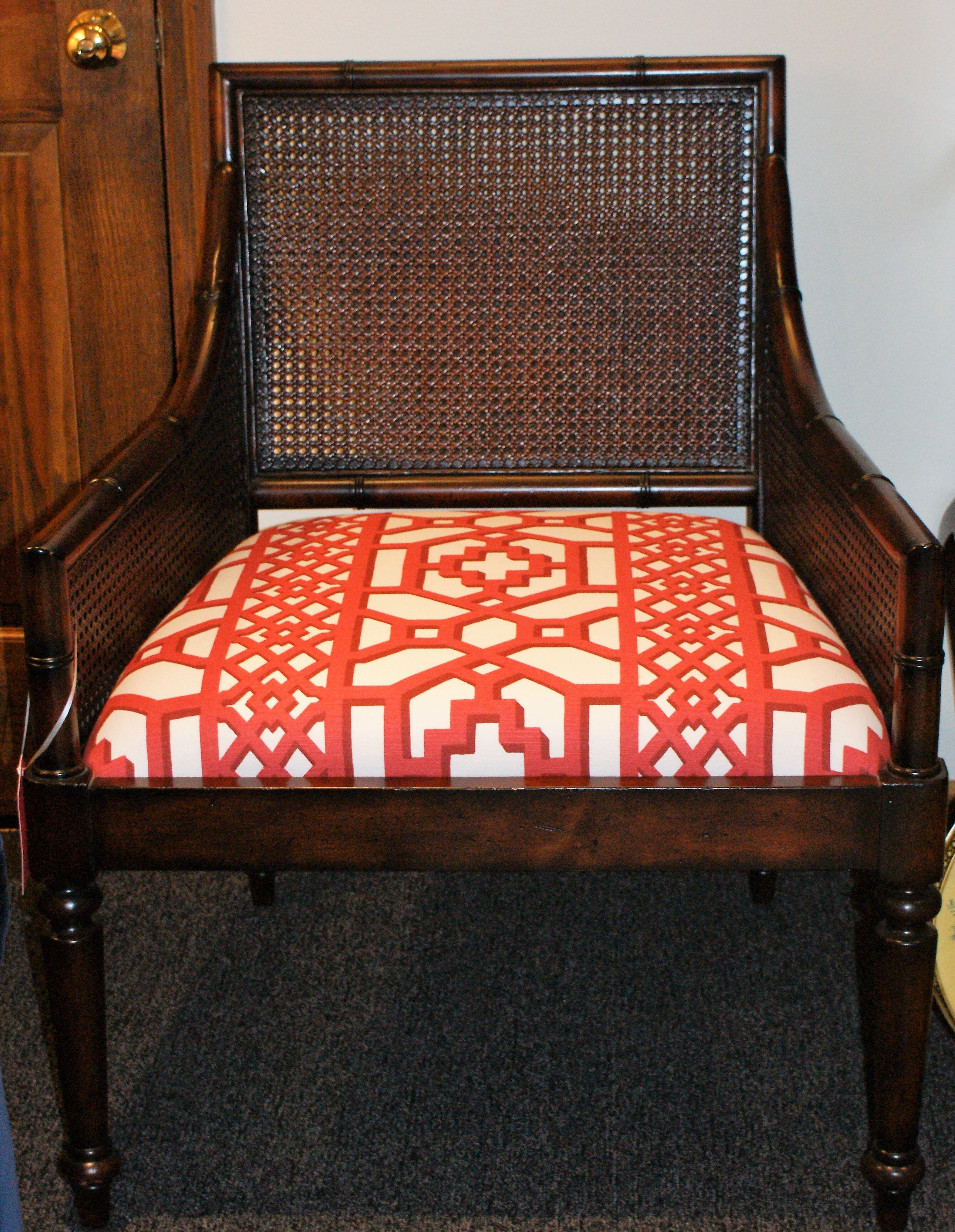 Cane Backed Chair