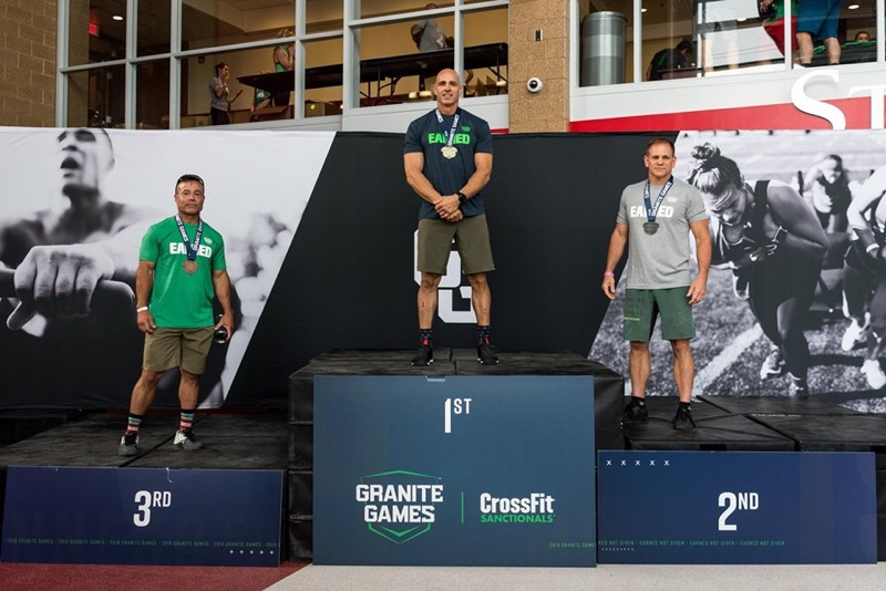 Our very own John Williamson placed 2nd in the Masters 50-54 division at this year's Granite Games. We could not be more proud of him and all of the hard work he has put in!