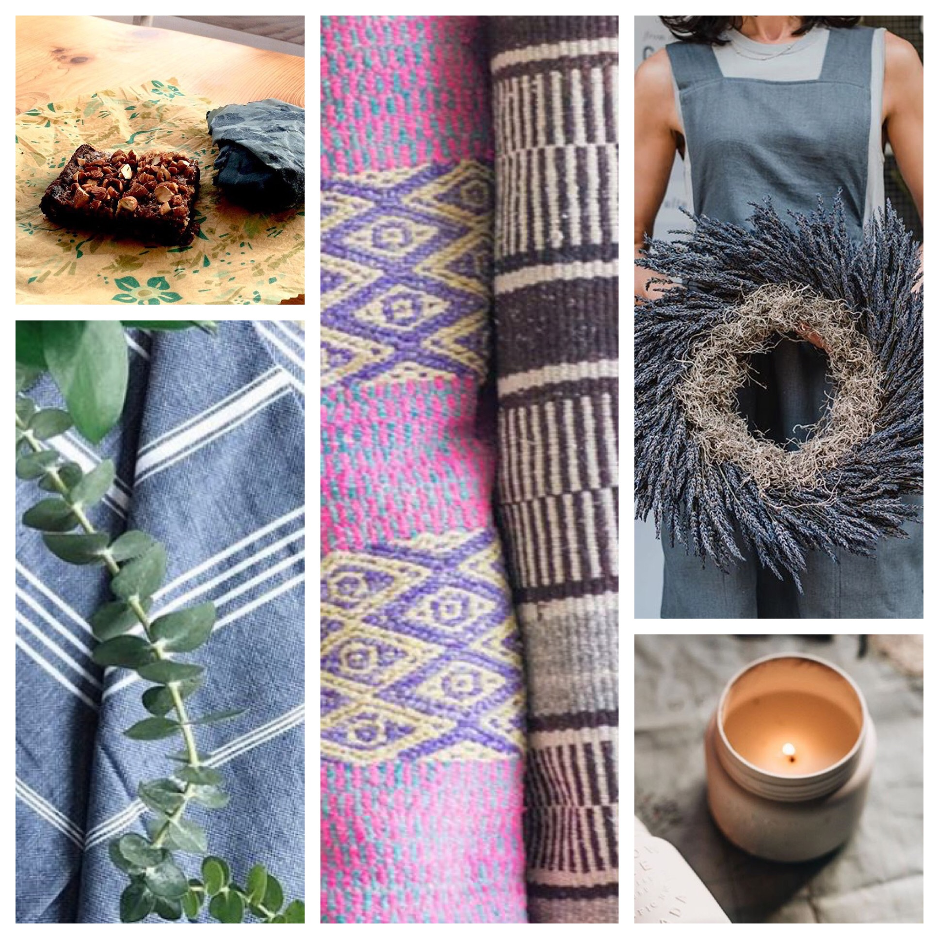 CLOCKWISE L TO R: WESTERLY CREATIONS, SOME OF A KIND, FROM THE GARDEN SHED, HOLLOW TREE, SUNDAY DRY GOODS