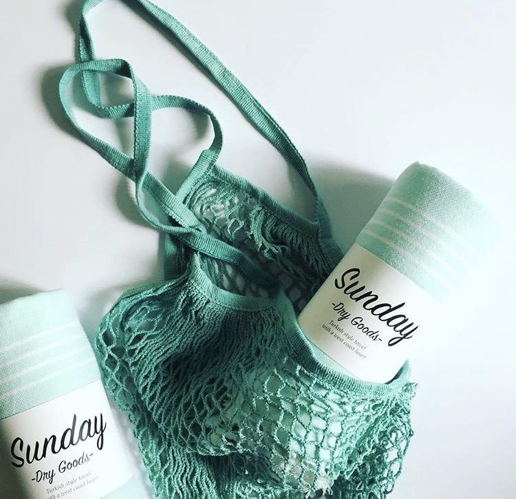 TURKISH BATH + HAND TOWEL, SUNDAY DRY GOODS