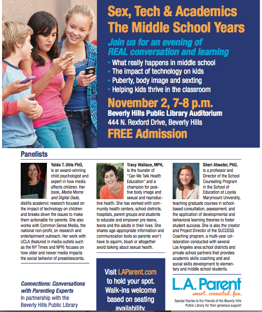 CHECK US OUT IN L.A. PARENT MAGAZINE -