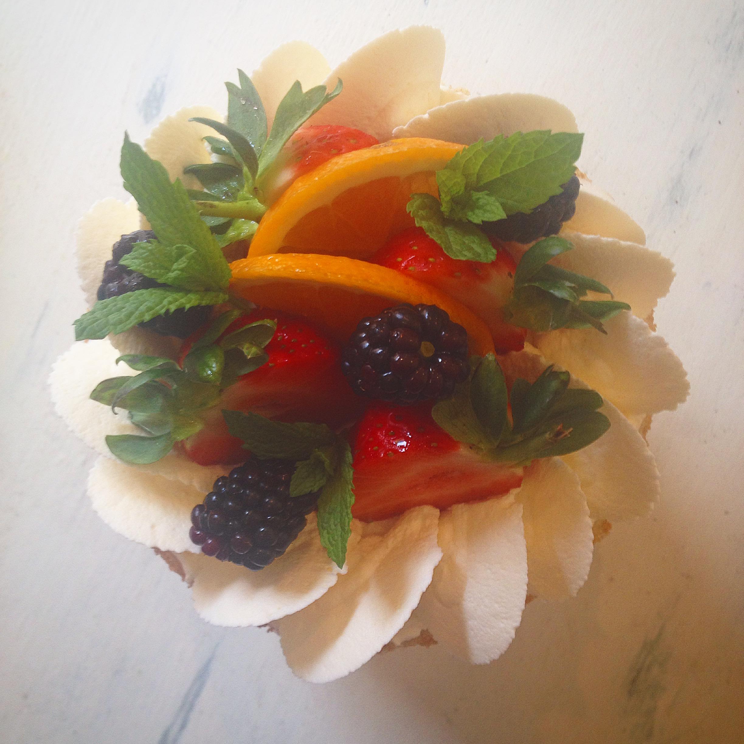 Wimbledon Pimm's Layer Cake - fruit