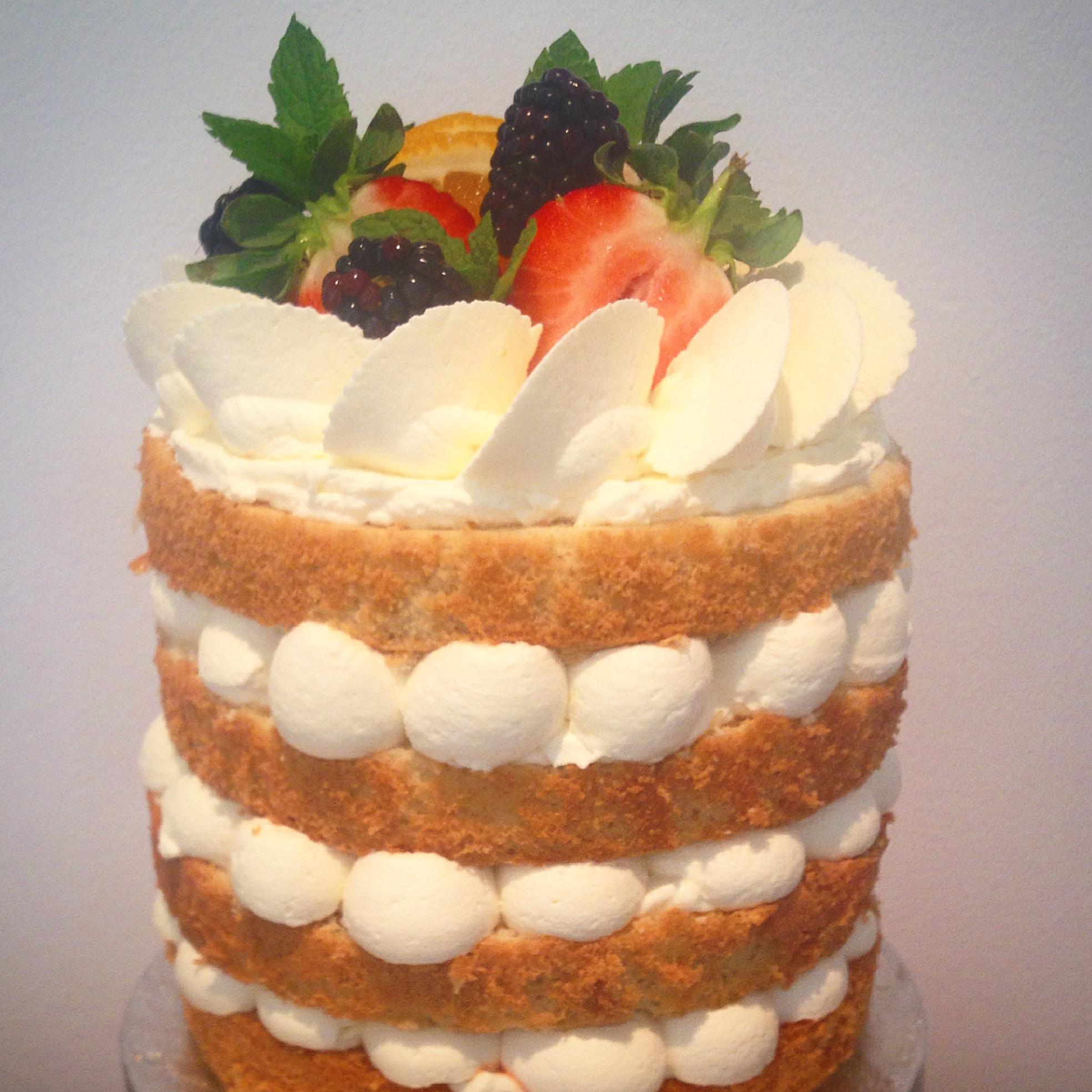 Wimbledon Pimm's Layer Cake