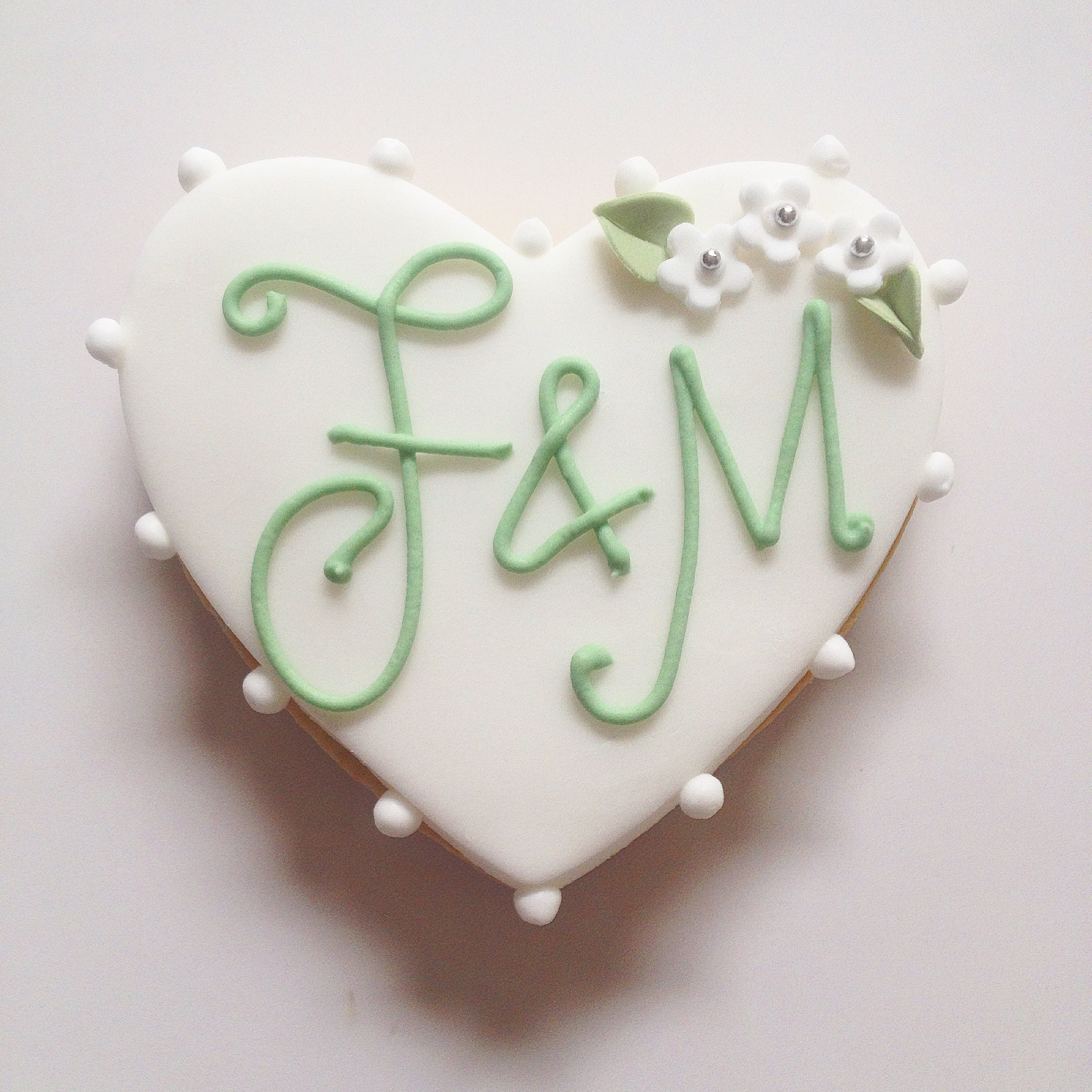 Monogram Wedding Favours