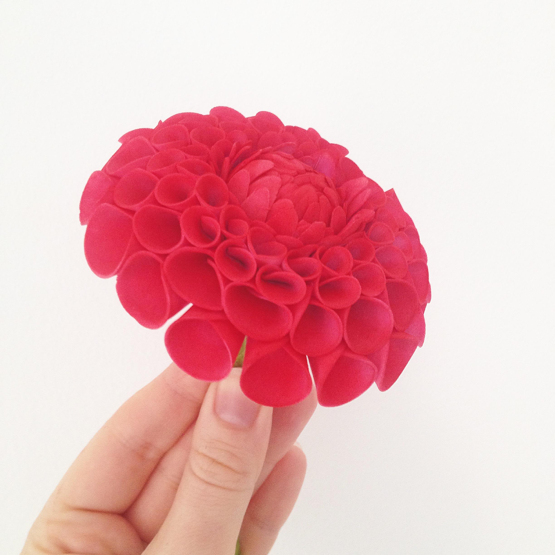 Dahli sugar flower