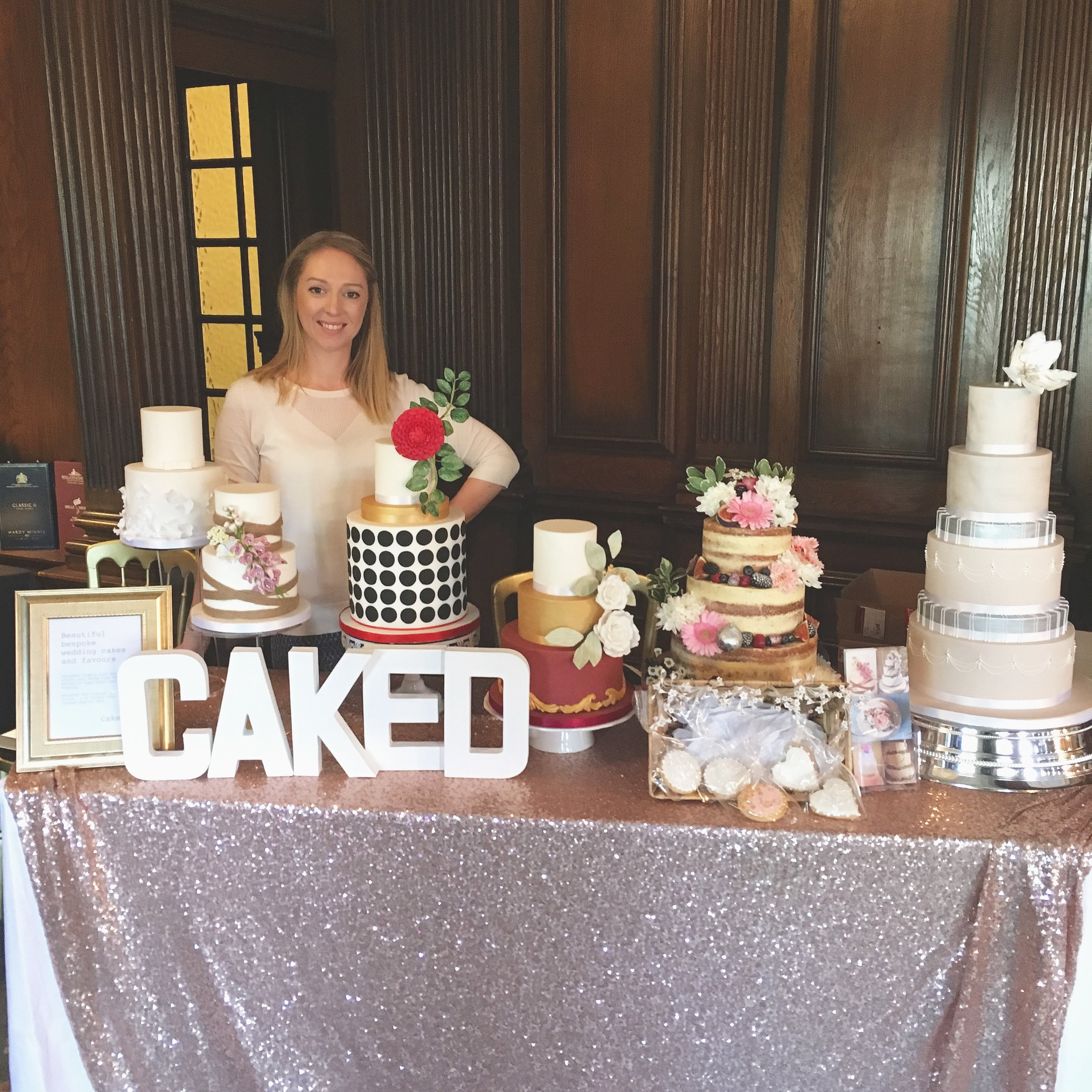 Caked Stand Heatherden Hall Wedding Fair