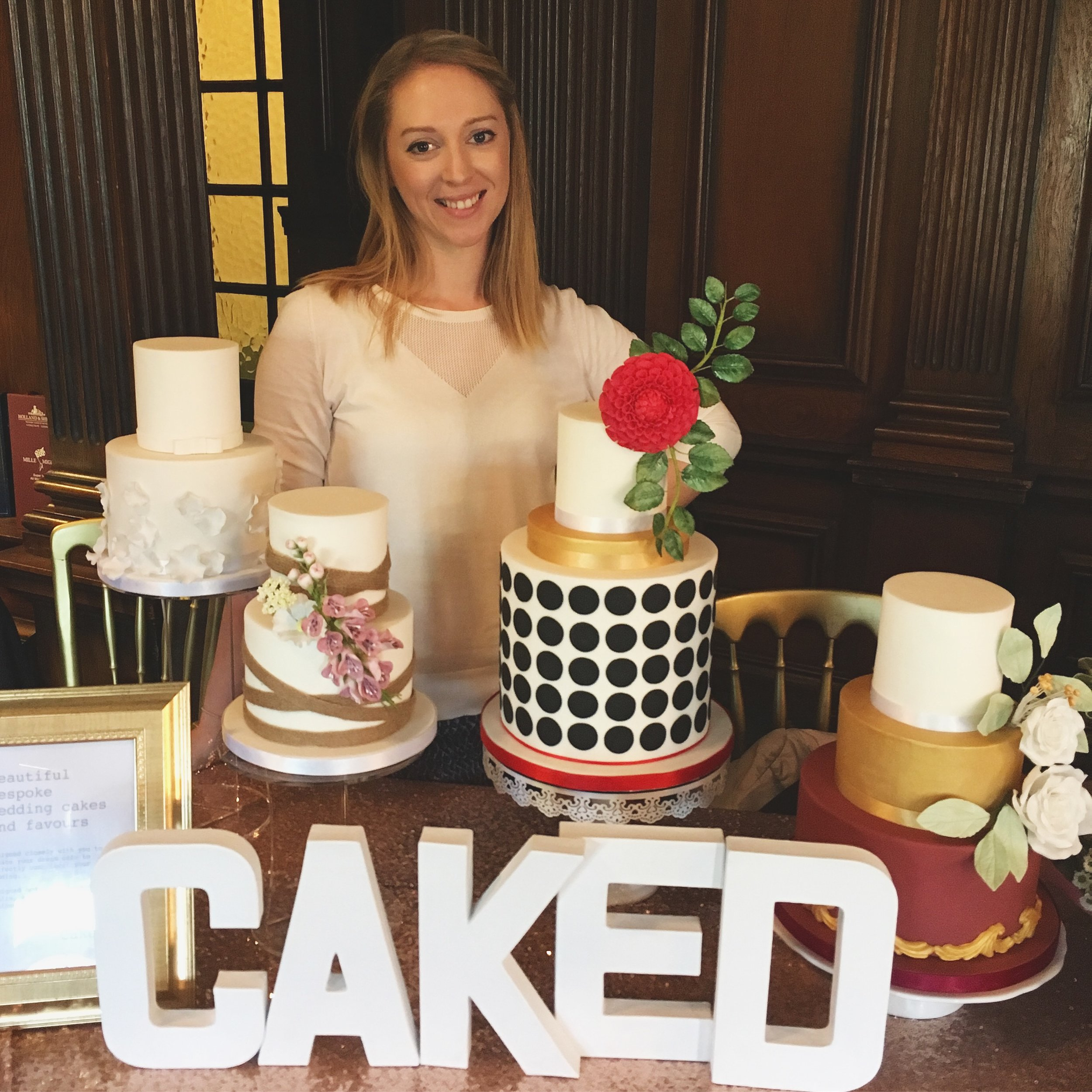 Caked wedding fair - Claire Thomas