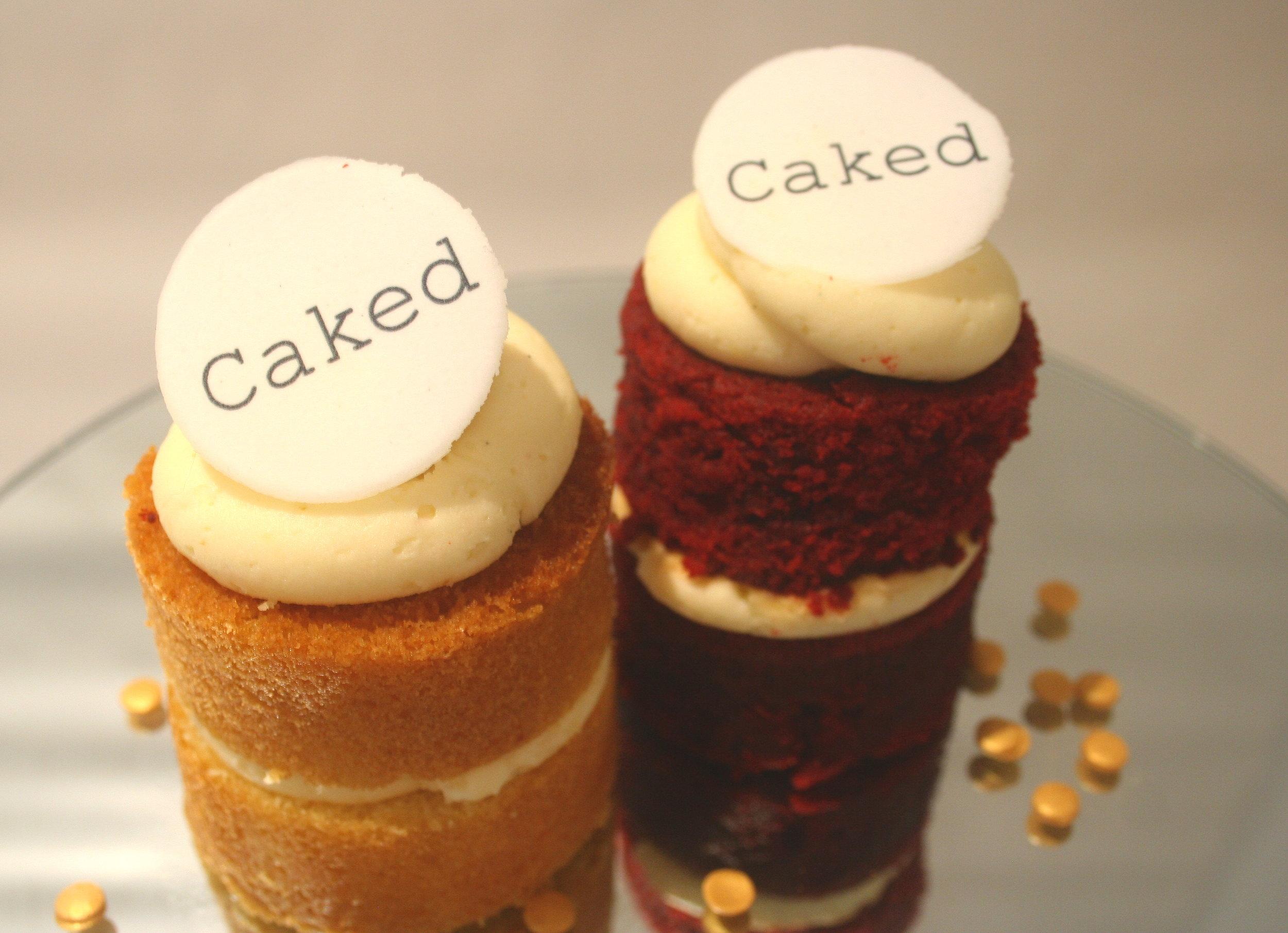 Caked Branded Mini Cakes