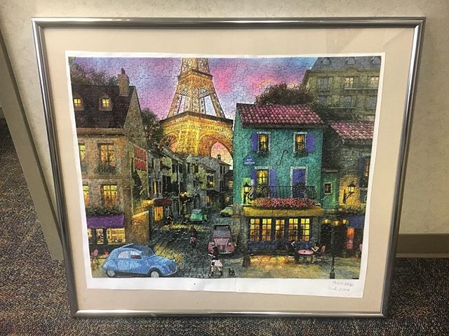 Take a look at this wonderful #JigsawPuzzle completed by our talented Ann! 🧩 One her many projects. . . . #anotherchance #acrsi #dayprogram #disabilitysupport #disabilityawareness #developmentaldisabilities #ddawareness19 #dsplife #cnalife #decaturga