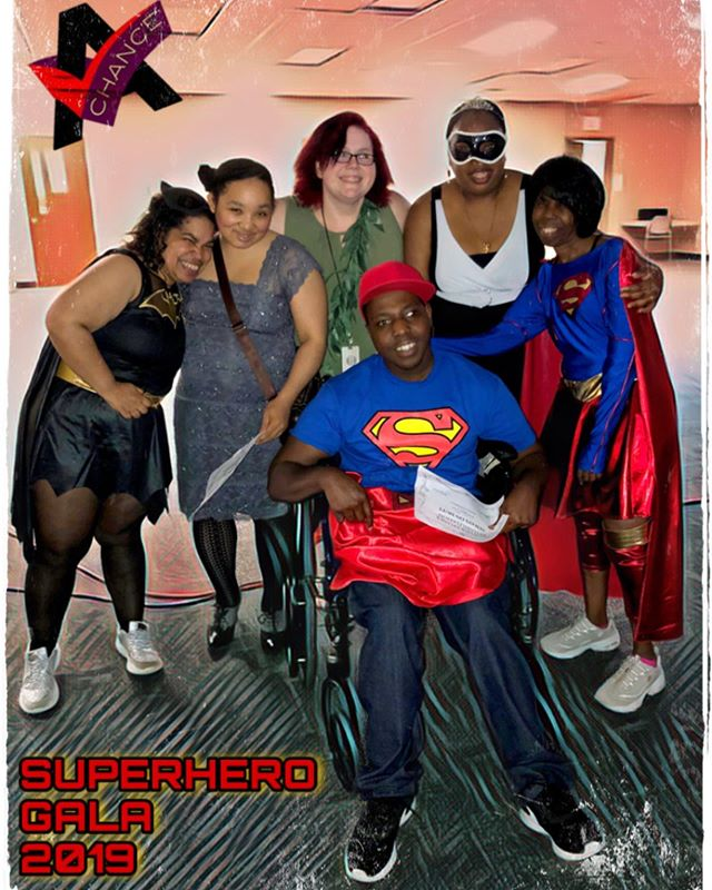New pictures are up from this year's Gala! Superheroes and Villains were in attendance. 🦹🏽♀️🦸🏼♂️🦸🏽♀️🦹🏻♂️. . . . #dayprogram #disabilityawareness #disability #disabilitysupport #dsplife #cnalife #adultprom #superman #supergirl #batgirl #superhero #villains