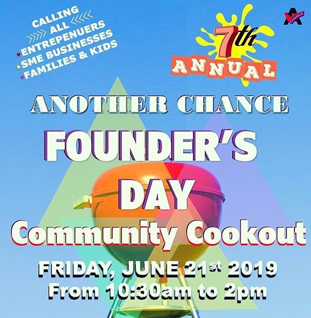 TOMORROW!‼️ 🗣 Calling all #disabilitysupport and #disabilitylove to our 7th Annual #FoundersDay Community Cookout on Friday, June 21st in #DecaturGa! Enjoy @djtabone, vendors, complimentary food, games, inflatables and community info...all #FREE! . . . . . #acrsi #anotherchance #disabilityawareness #dayprogram #atlanta #freeevent #vendorsatl #dsplife #cnalife #kidfriendly #familyfriendly #communitycookout #atlantabbq #bbq #caregiver #happeningnow #atlevents