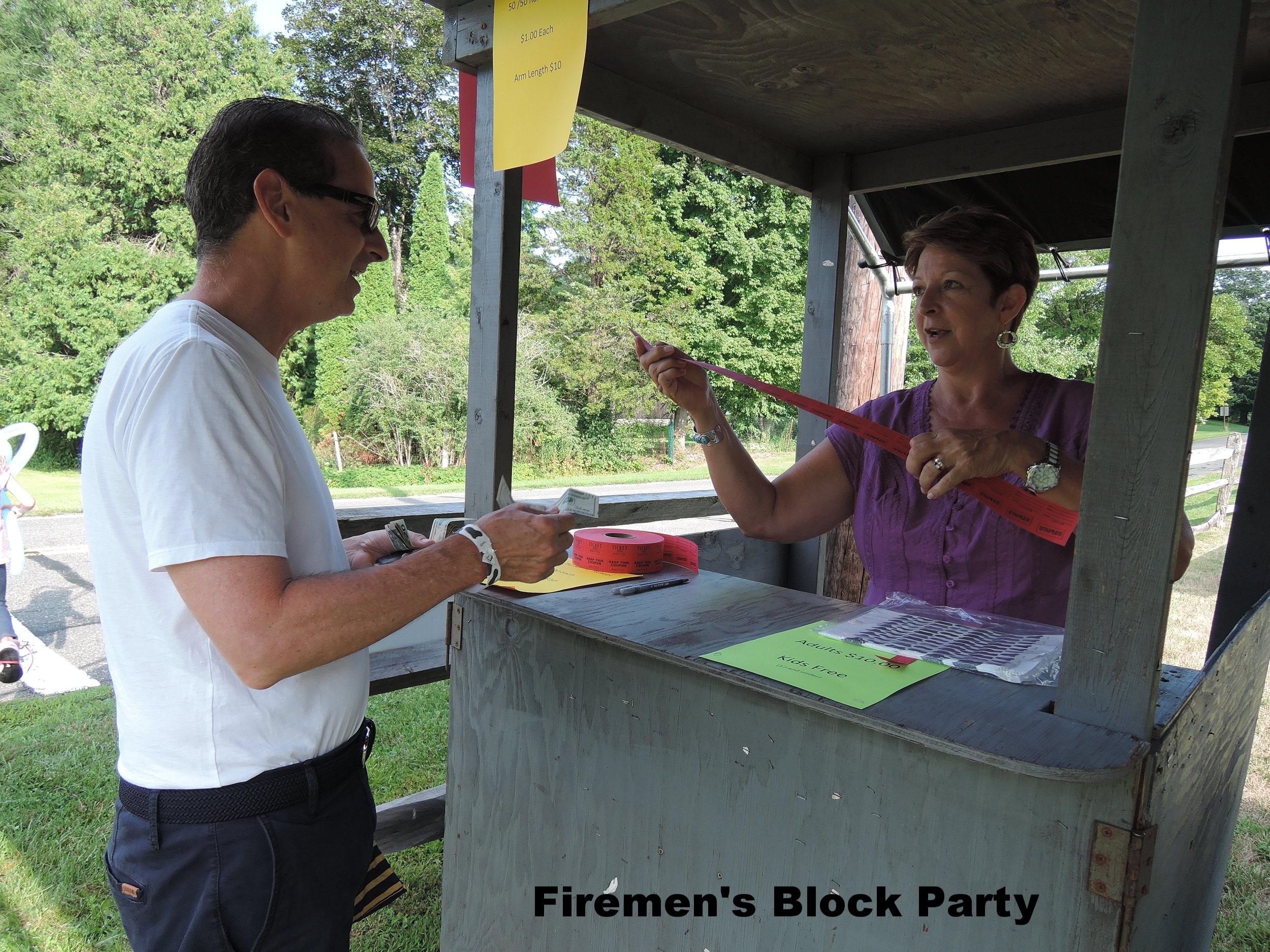 Firemen's Block Party