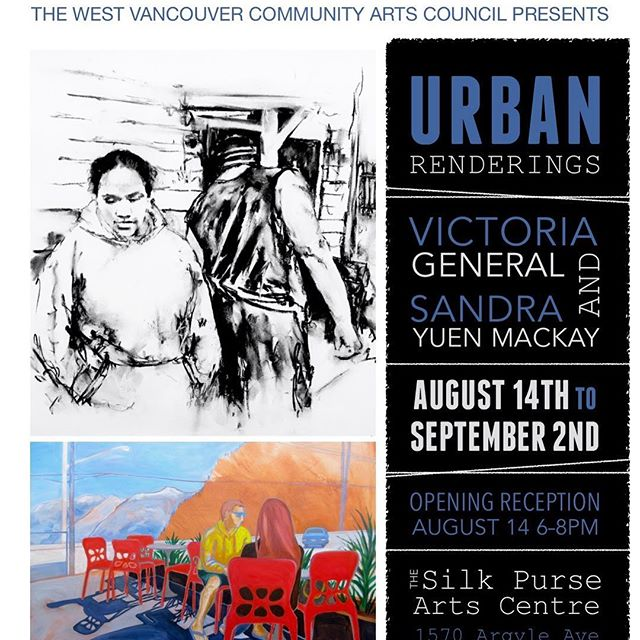 My friend Victoria.General has shown in a bunch of cities and now she's got a show in YVR - check it out!