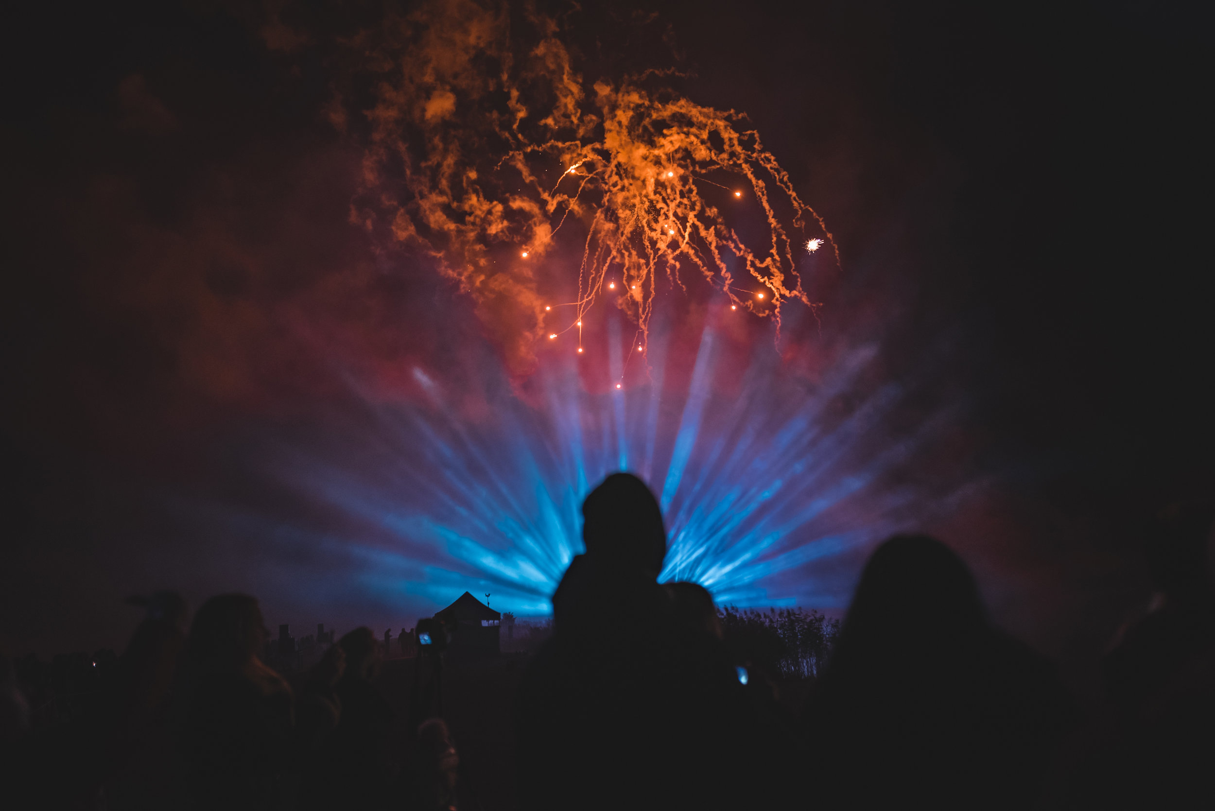 Fireworks Display - Leeds Castle - 2018