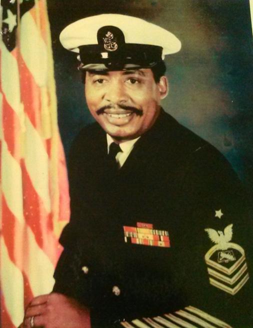 Vivian's Father: Senior Chief Petty Officer Isaiah Clark, USN