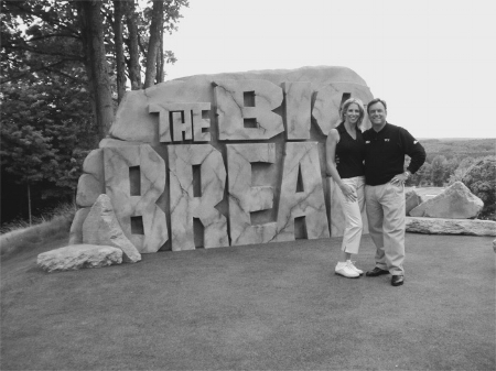 Rick Smith hosting Golf Channel's  The Big Break