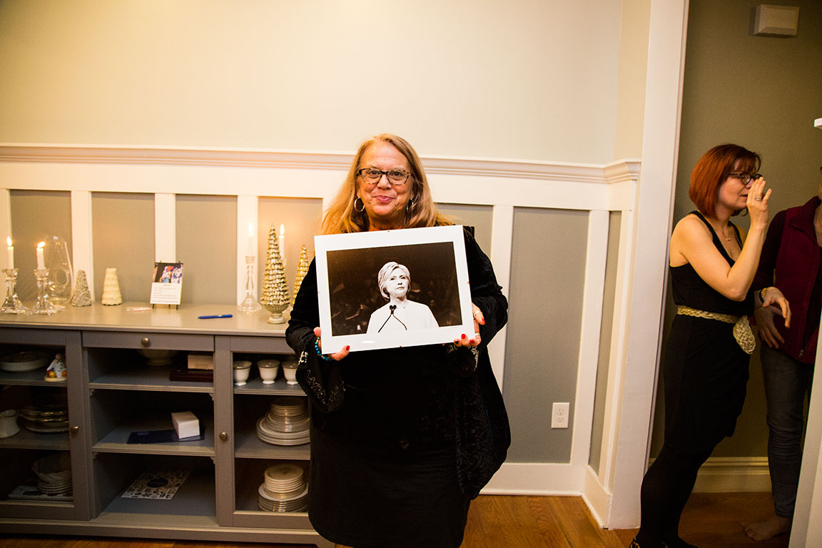 Congrats to Linda who won the Hillary Print raffle that helped raise funds for  The Gender Equality Law Center .