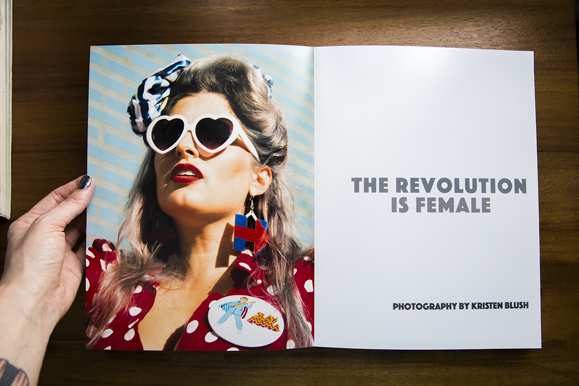 Title Page of  The Revolution is Female