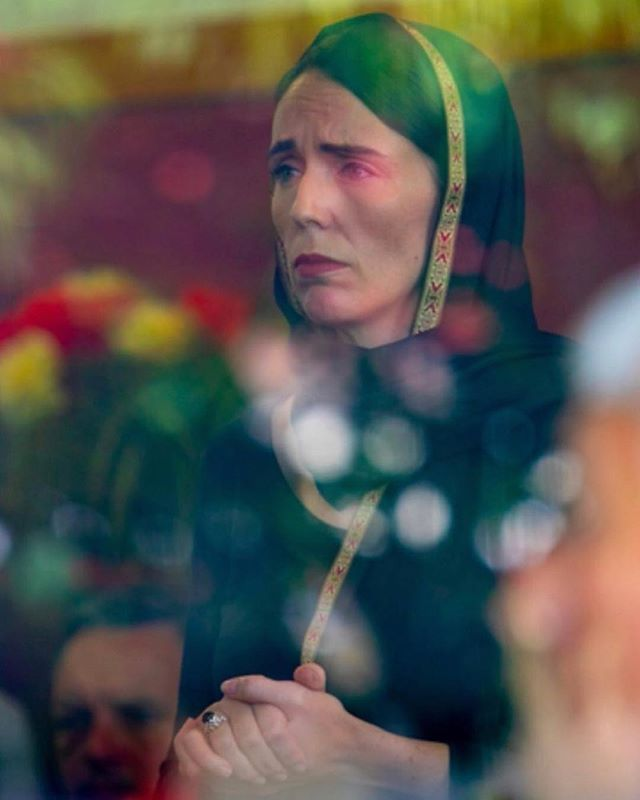 #Repost @k_jeanpierre ・・・ This is what leadership looks like.  This is what compassion looks like.  New Zealand Prime Minister Jacinda Ardern, wearing a hijab in solidarity with the Muslim community as they mourn the 50 people who were killed in shootings at two mosques in New Zealand on Friday in a terrorist attack by a white supremacist.  #NewZealandMosqueAttack