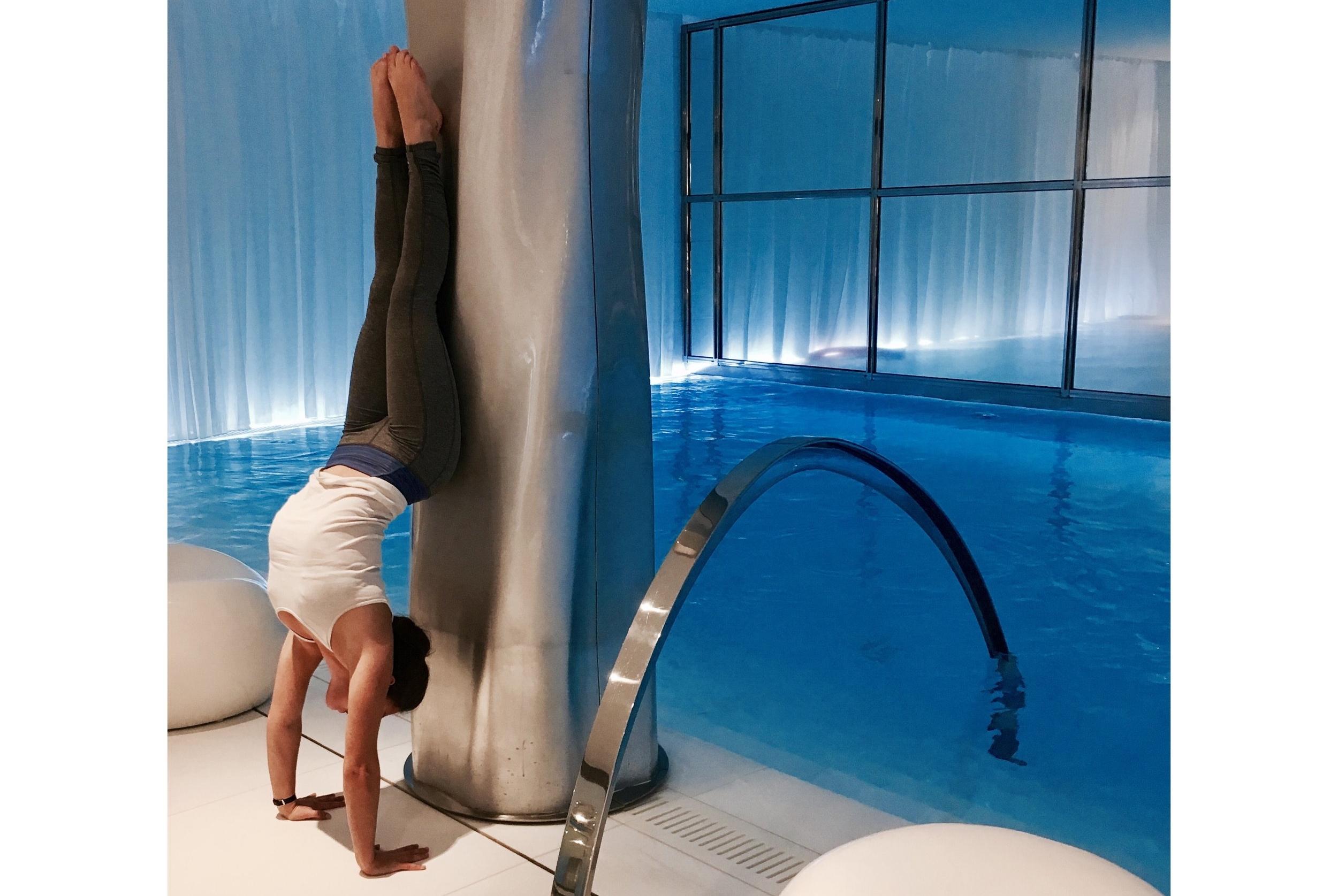 Teaching Yoga @LeRoyalMonceauParis
