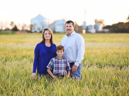 Evangeline parish rice farmer Richard Fontenot has been plagued with relentless flooding this spring.