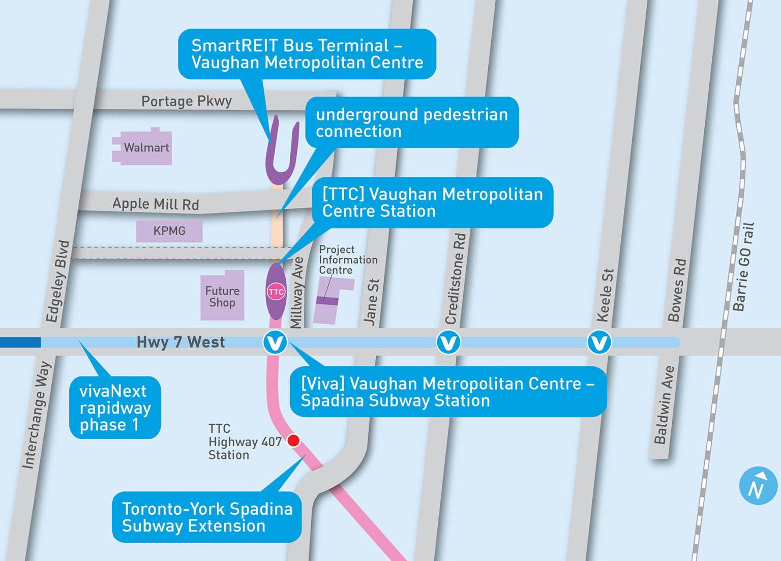 Transit Site Plan