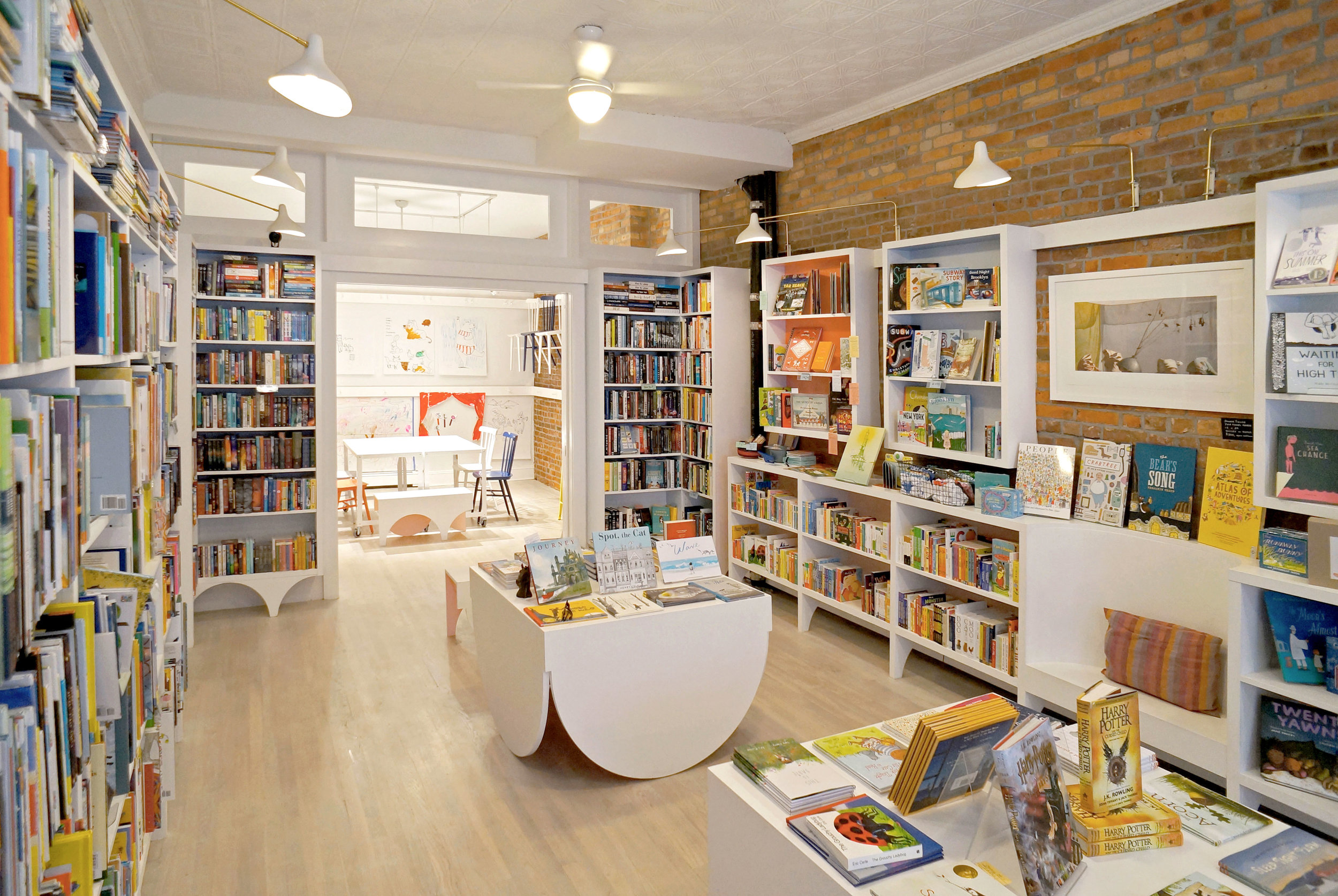 Stories bookshop Brooklyn, NY  Designer LANAS Inc.  2016
