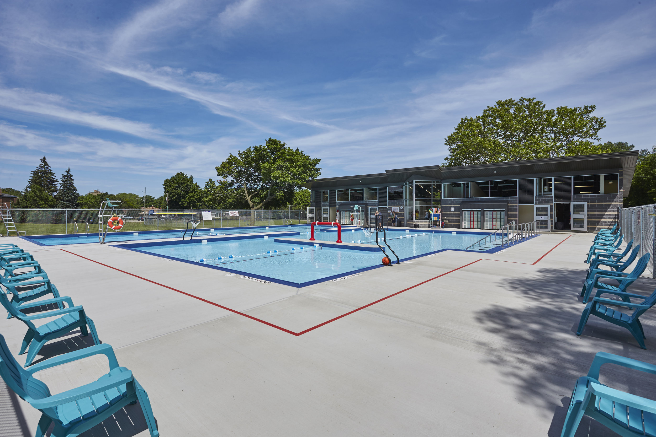 Green Acres Pool  Completed  Hamilton, Ontario  McCallum Sather Architects Inc.