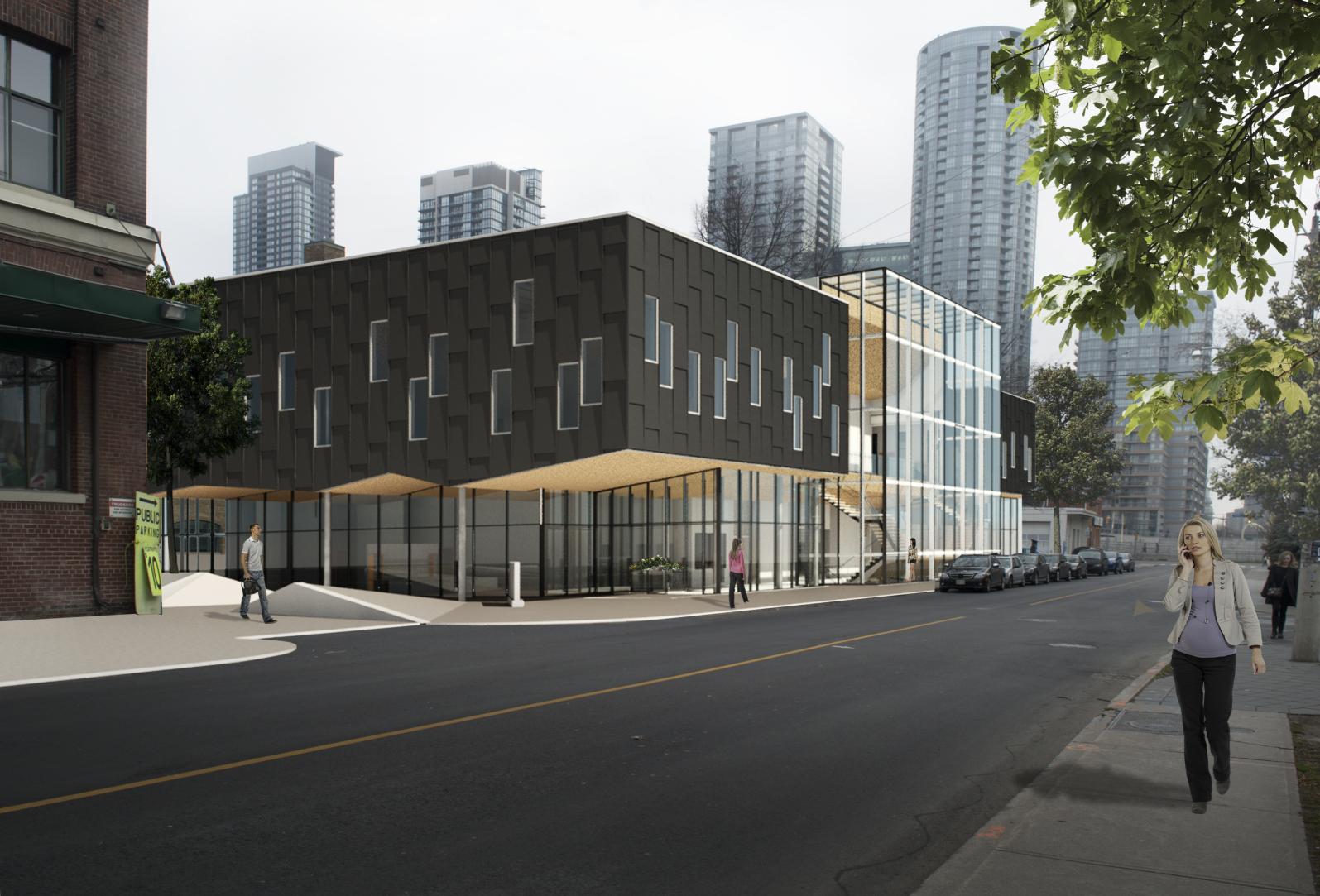 Portland Community Centre  Theoretical Project  Toronto, Ontario  Integration Studio II, Ryerson University 2016