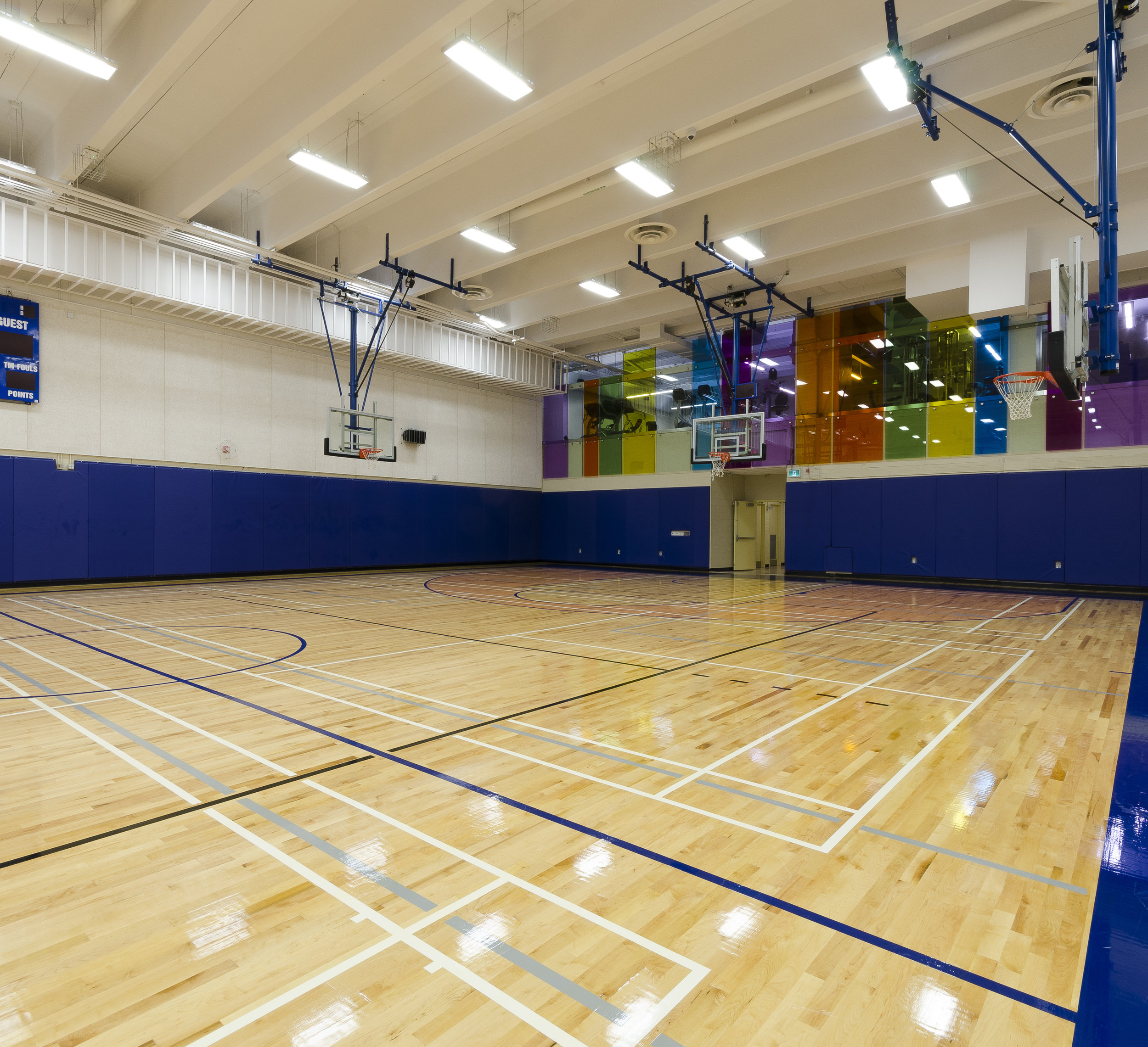 George Brown Casa Loma Athletic Wing Renovation (Completed)  Toronto, ON  SSG Architecture Inc.  2015