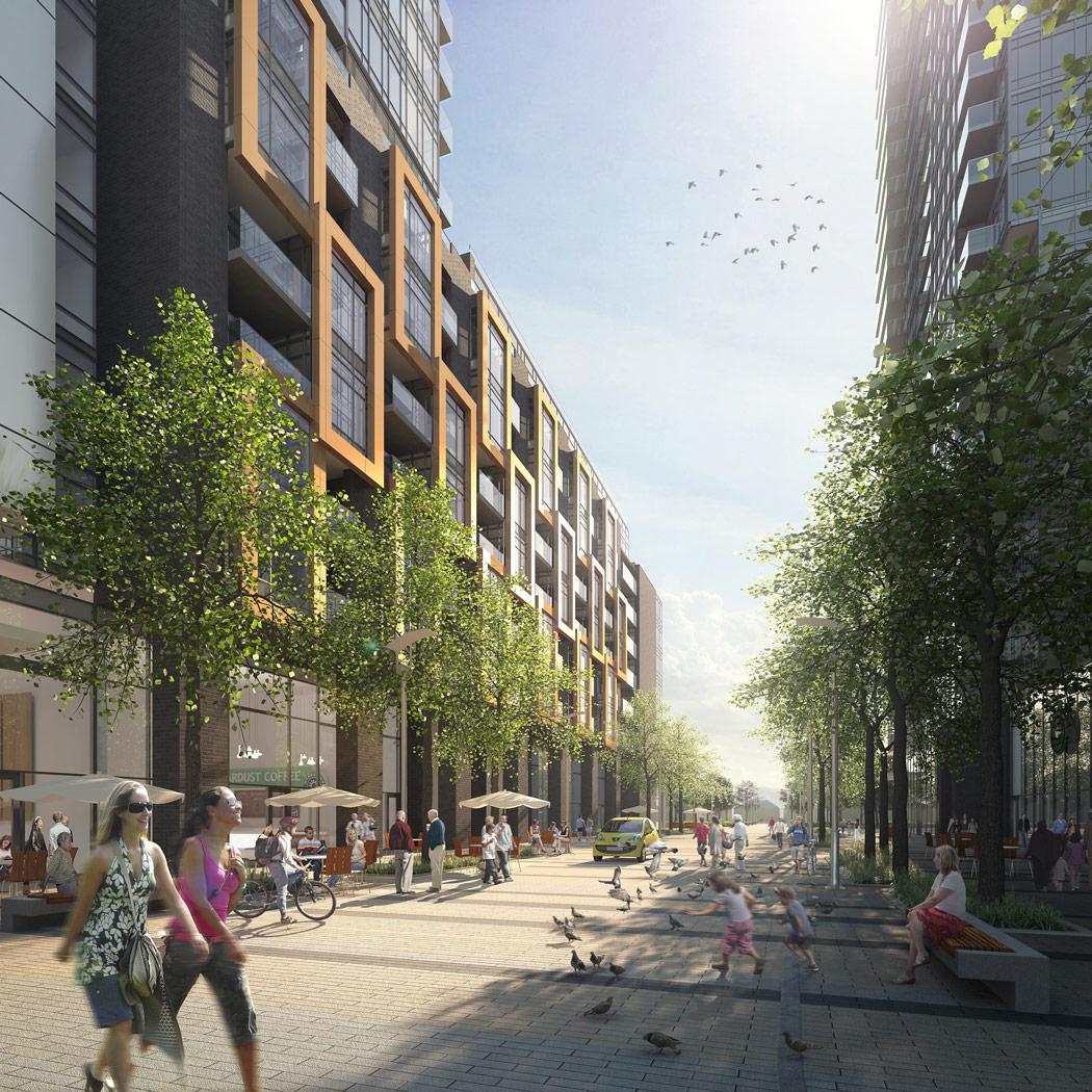 Newtonbrook Plaza redevelopment plan, North York, ON