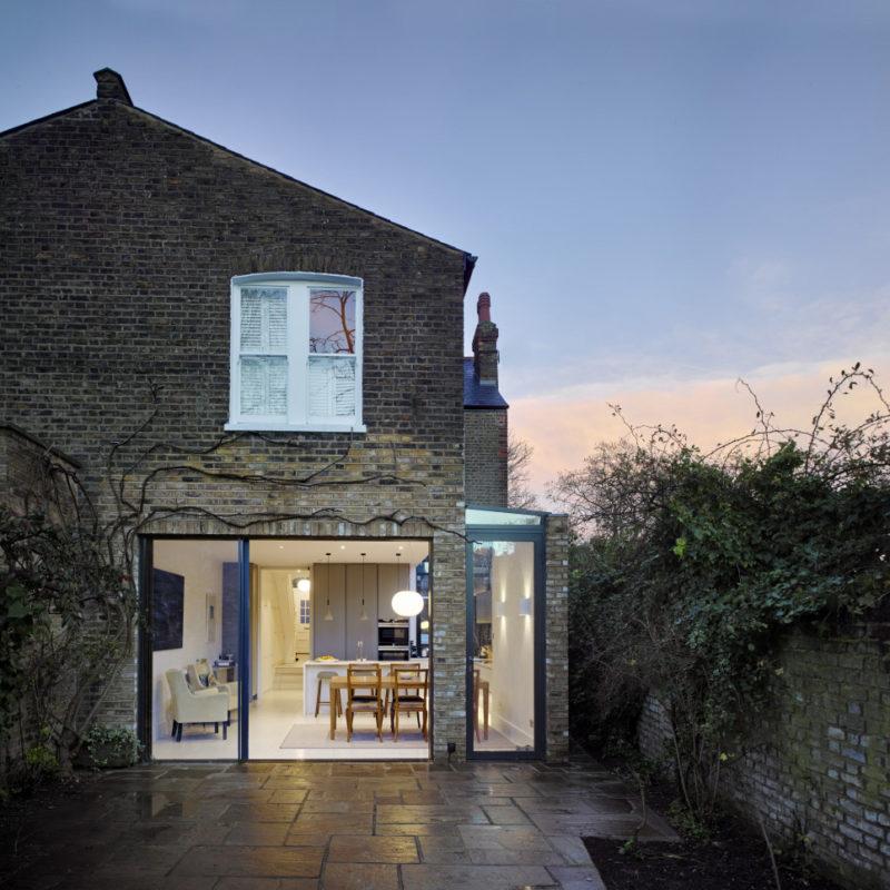 One Milman Road house addition, London UK