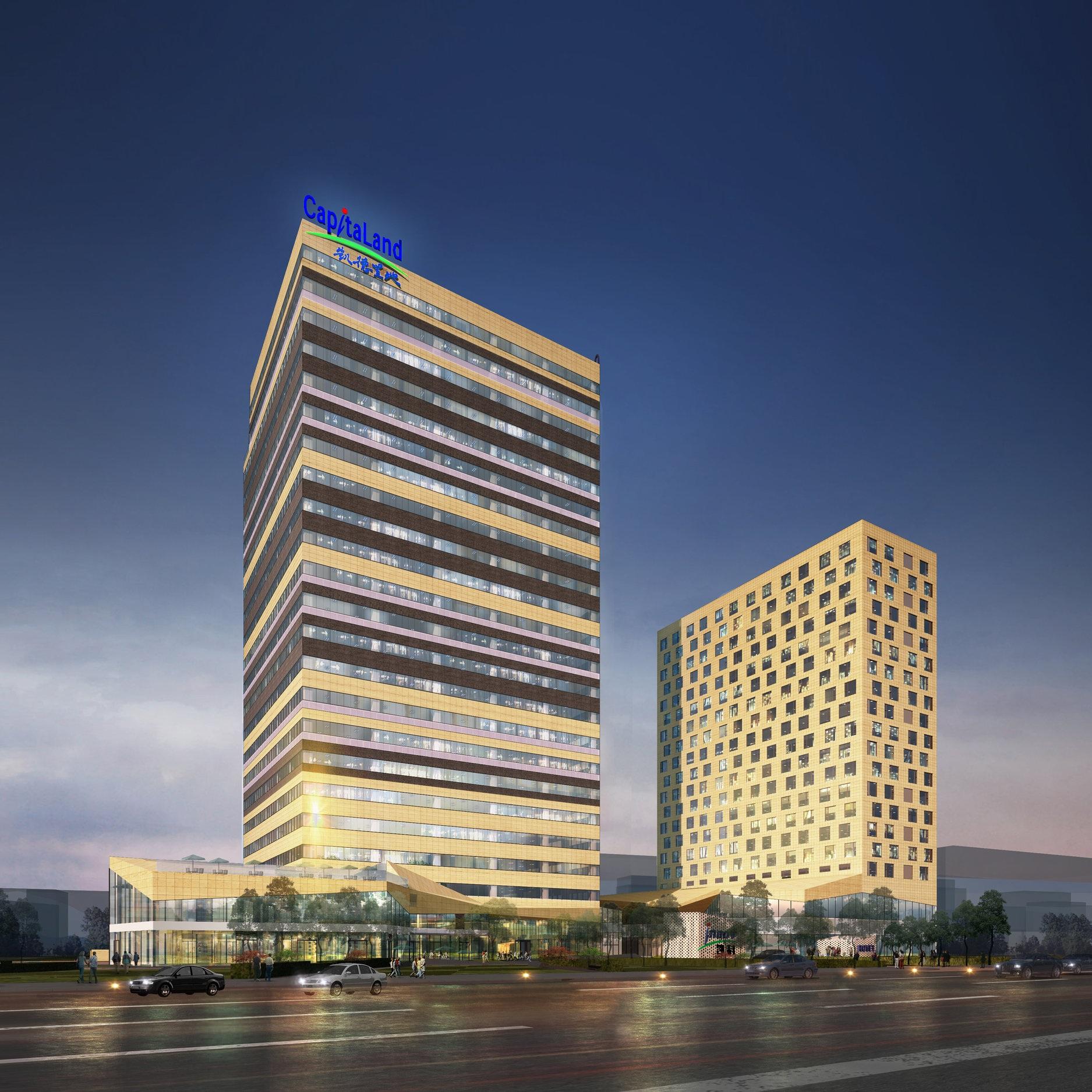 Baohua Center, Team Leader, Spark Architects, Shanghai, China, 2013