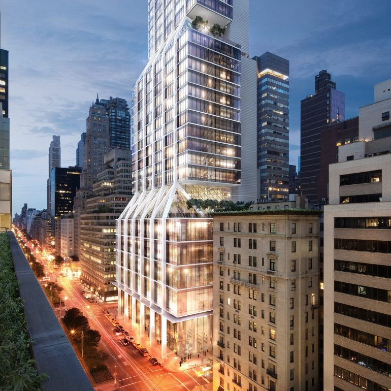 425 Park   NYC, New York  Ongoing  Adamson Associates  (Architect of Record)