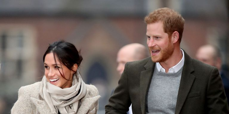 This wonderful Getty Images photo of the engaged couple. I think Agnes would have thought Megan was the best thing for the royal family because in her opinion they were inbred.