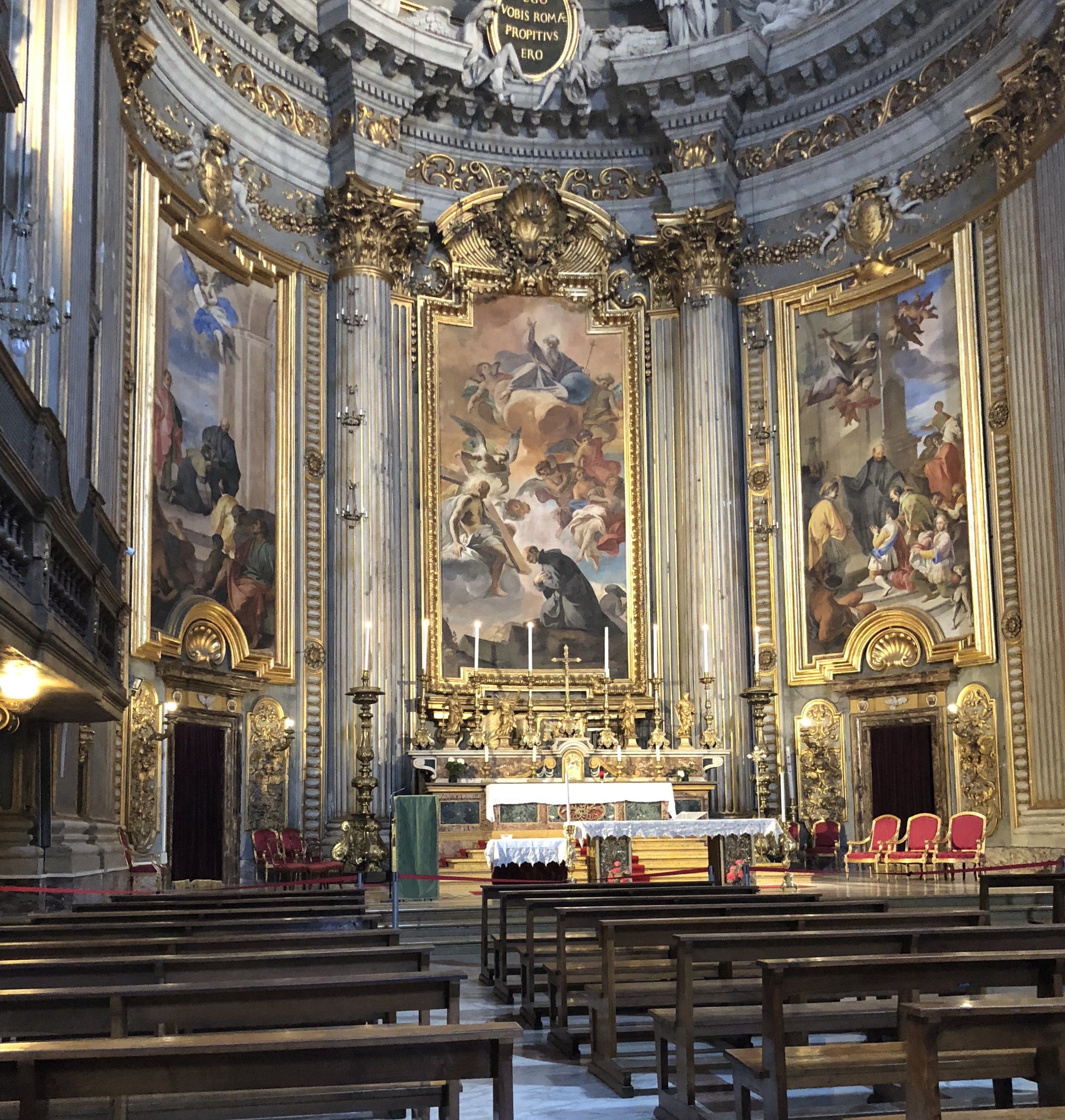 One of Rome's countless sublime churches. www.laurabradbury.com