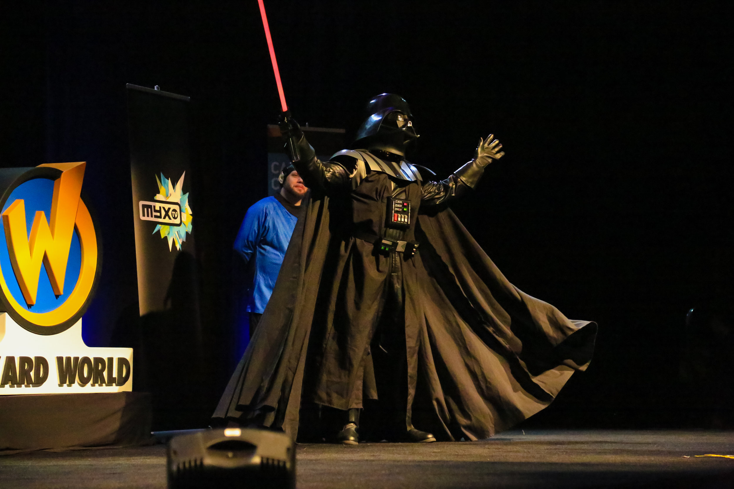 Cosplay Compitition at Wizard World Comic Con in Sacramento