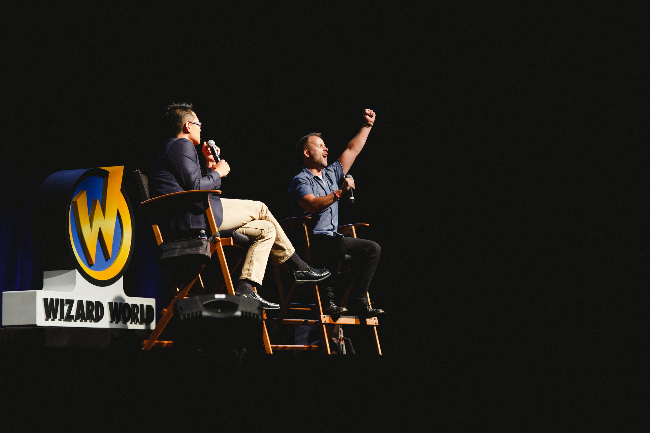 Billy Boyd at Wizard World Comic Con | Lenkaland Photography