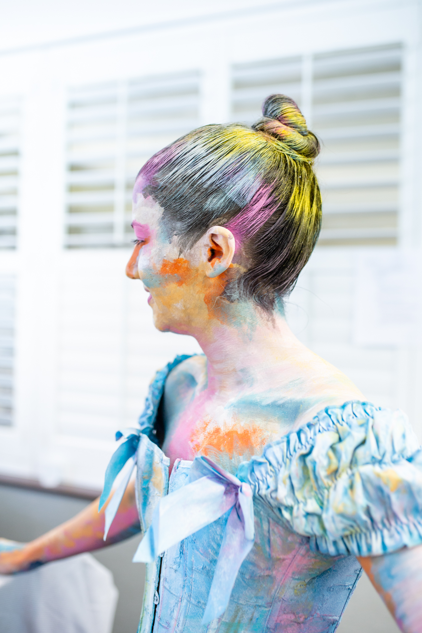 Living Art coordinated by Alison Kenyon   As Documented by Lenka