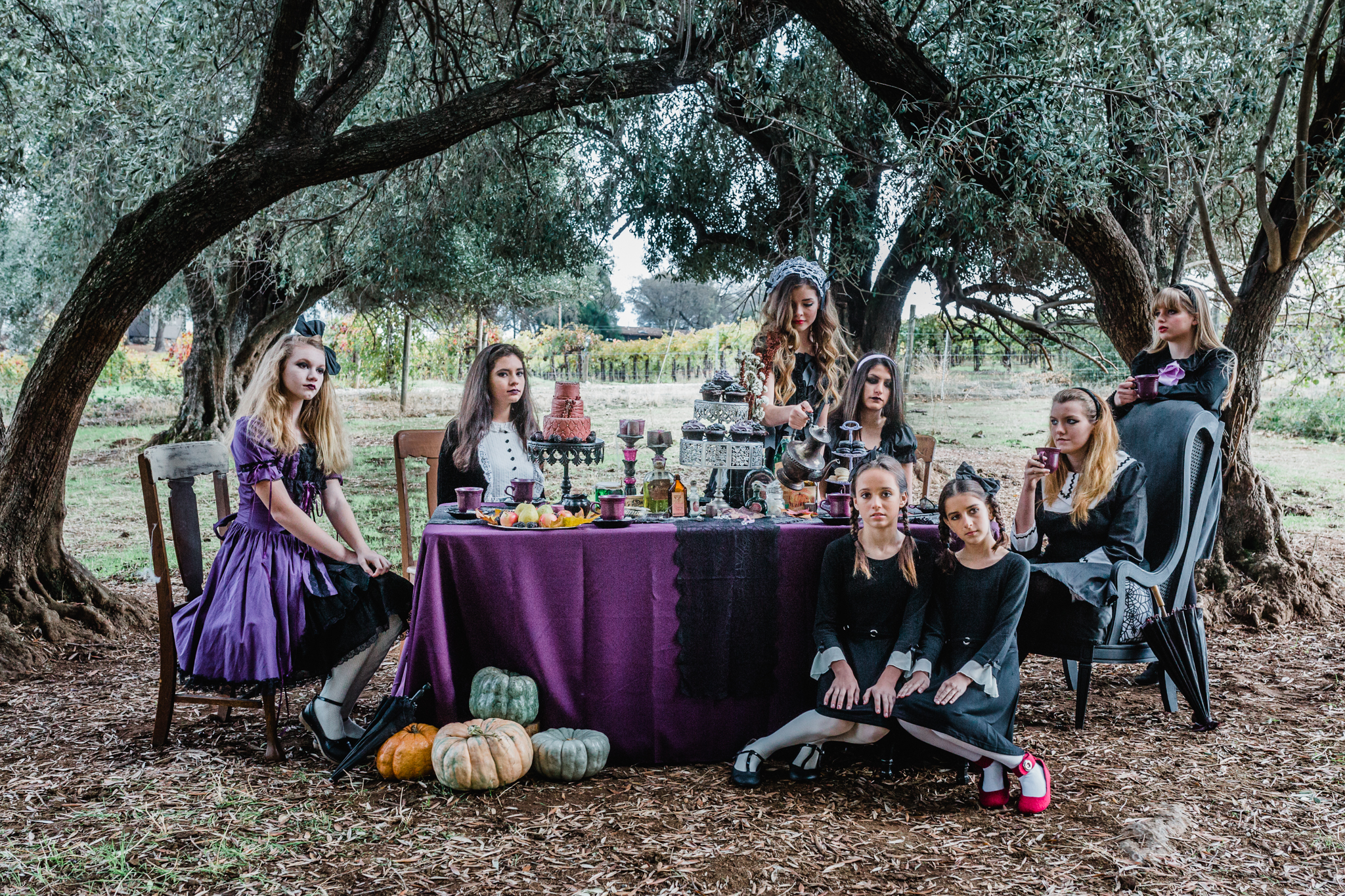 The Unconventional Portrait   Gothic Tea Party   Lenkaland Photo