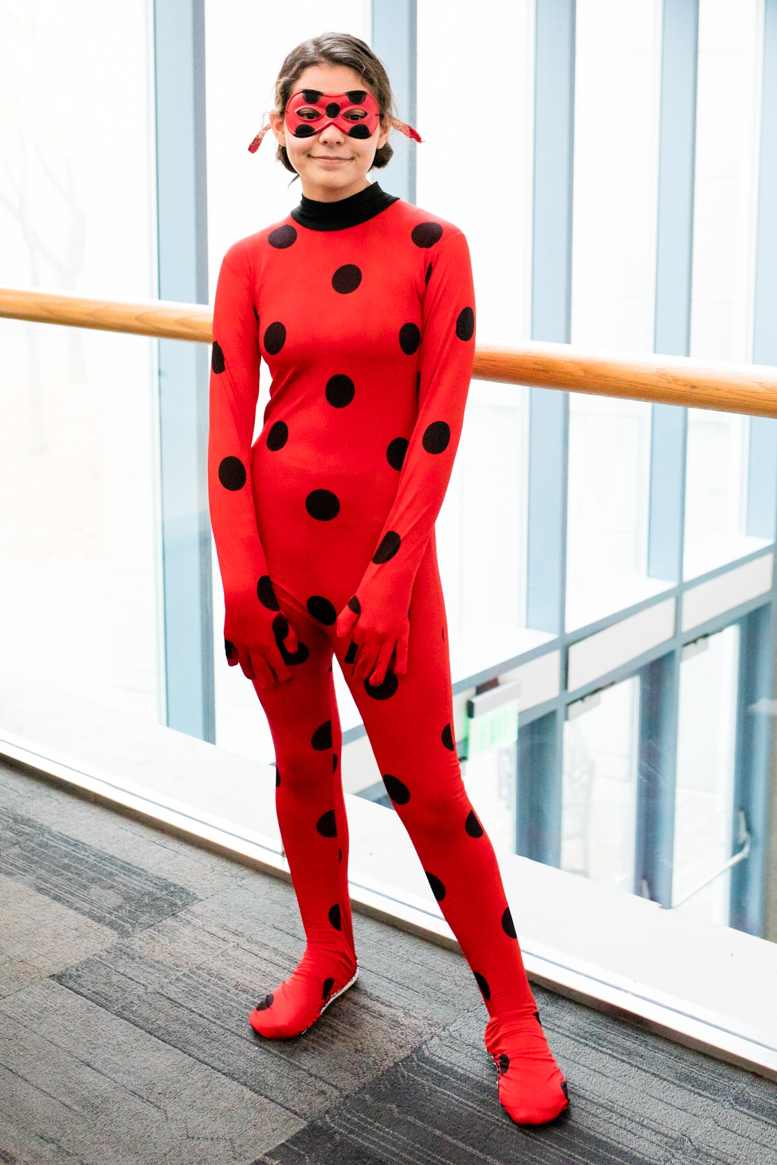 Miraculous Ladybug with Anika Vodicka at Heroes and Villains FanFest and Walker Stalker | Lenkaland Photography