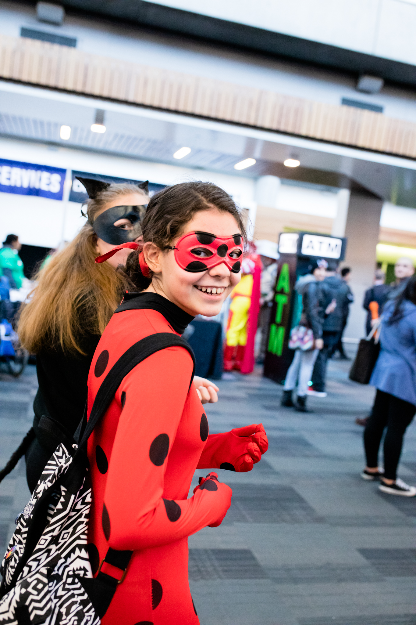 Miraculous Ladybug cosplay by Anika Vodicka at Heroes and Villains FanFest and Walker Stalker | Lenkaland Photography
