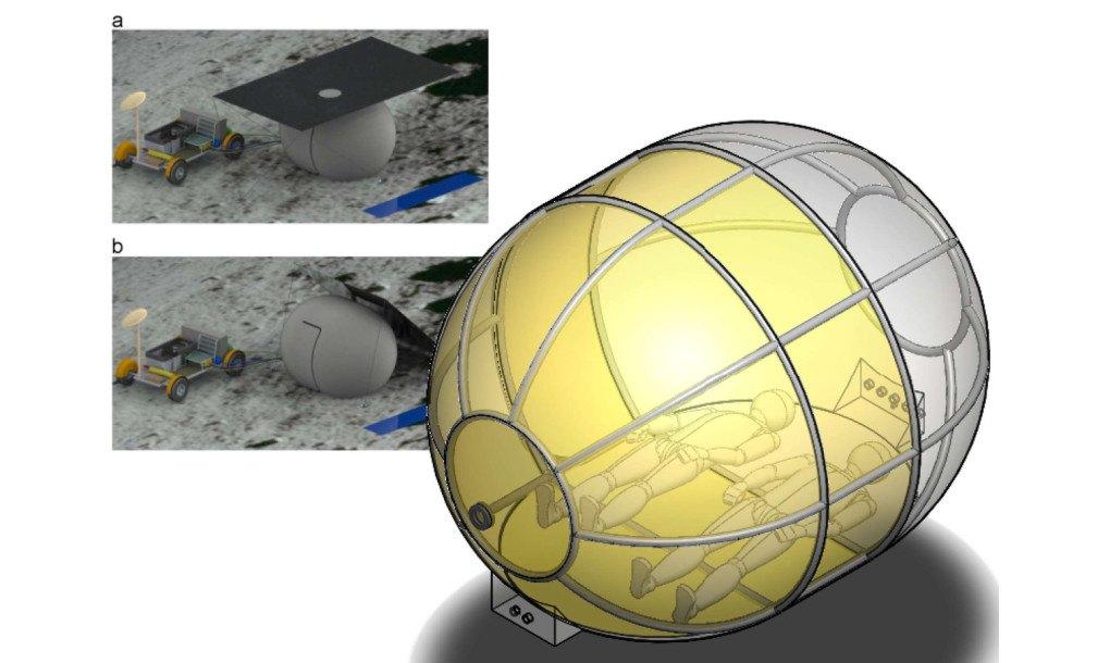 """M.I.T. """"Lunar Tent"""" concept"""