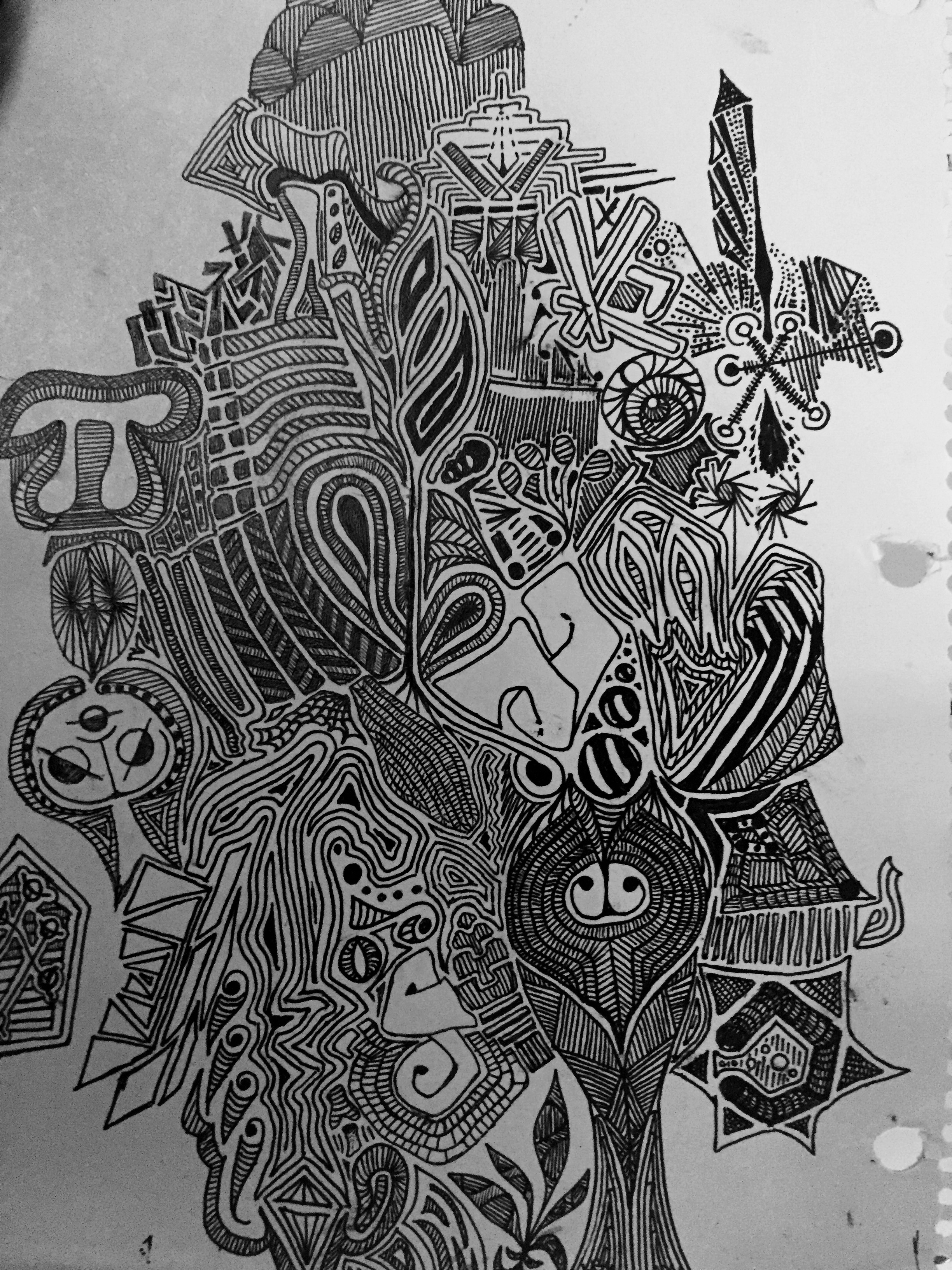 Image was created at some point during high school.