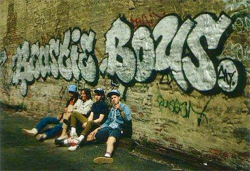 Beastie Boys piece by: CEY CITY circa 1985 West Village NYC