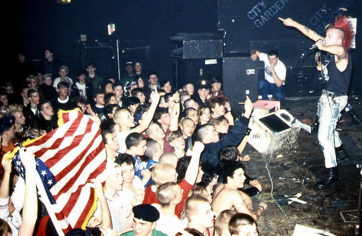 Wattie vs The Skins  January 22 1988. Photo by:  Ken Salerno