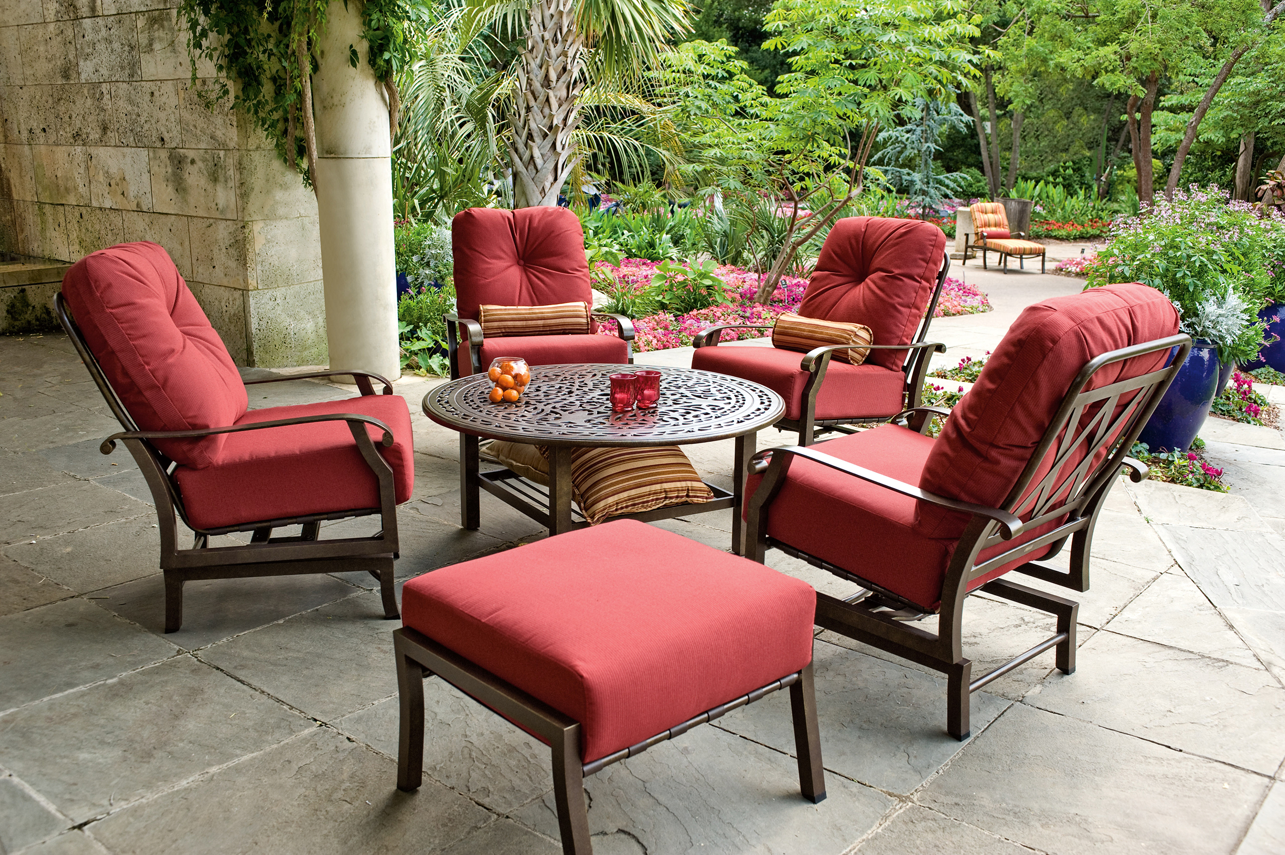 Outdoor — Larrabees Furniture + Design on Living Accents Cortland Patio Set id=17661