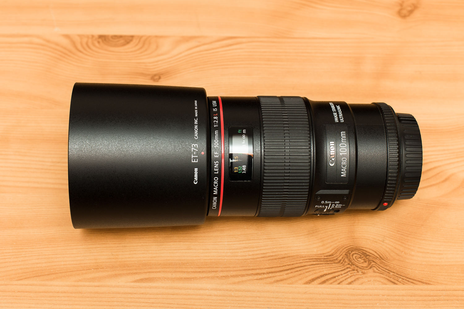 Canon 100 mm f/2.8 L IS Macro
