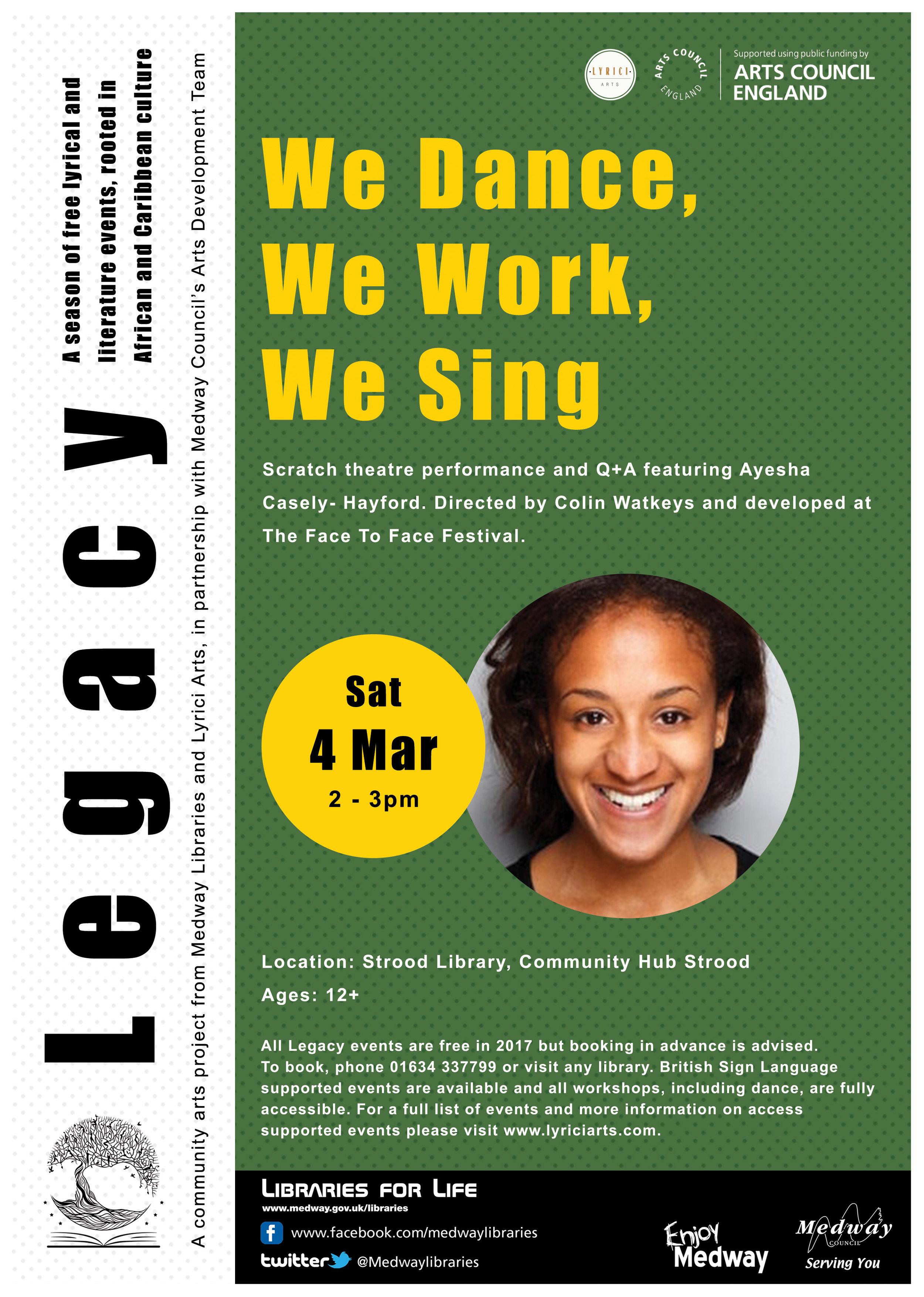 Legacy - 4th March 2017